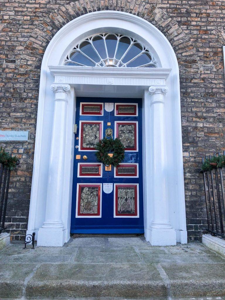 The Doors of Dublin, Merrion Square, Dublin, Ireland