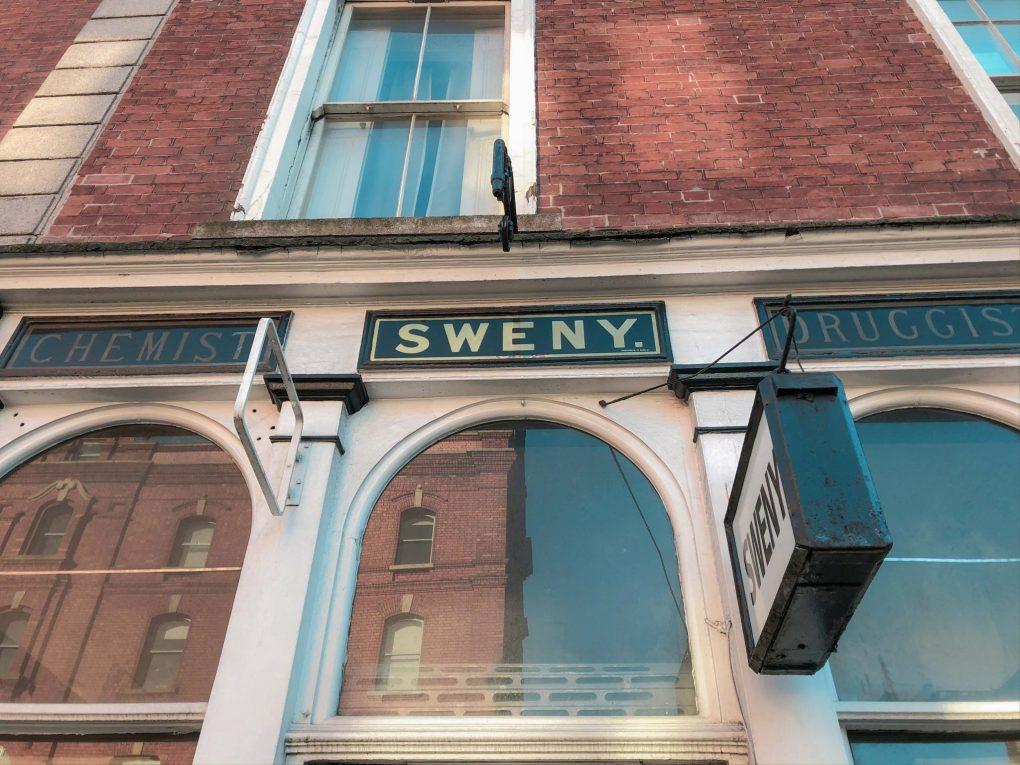 Sweny's Pharmacy, Merrion Square, Dublin, Ireland