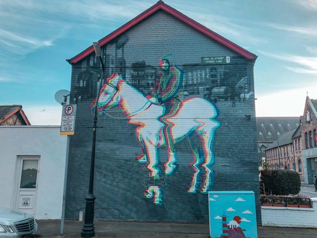 Horse Boy Mural