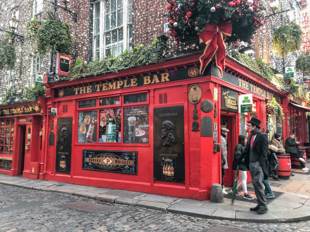 2 Days in Dublin: Temple Bar, Dublin, Ireland