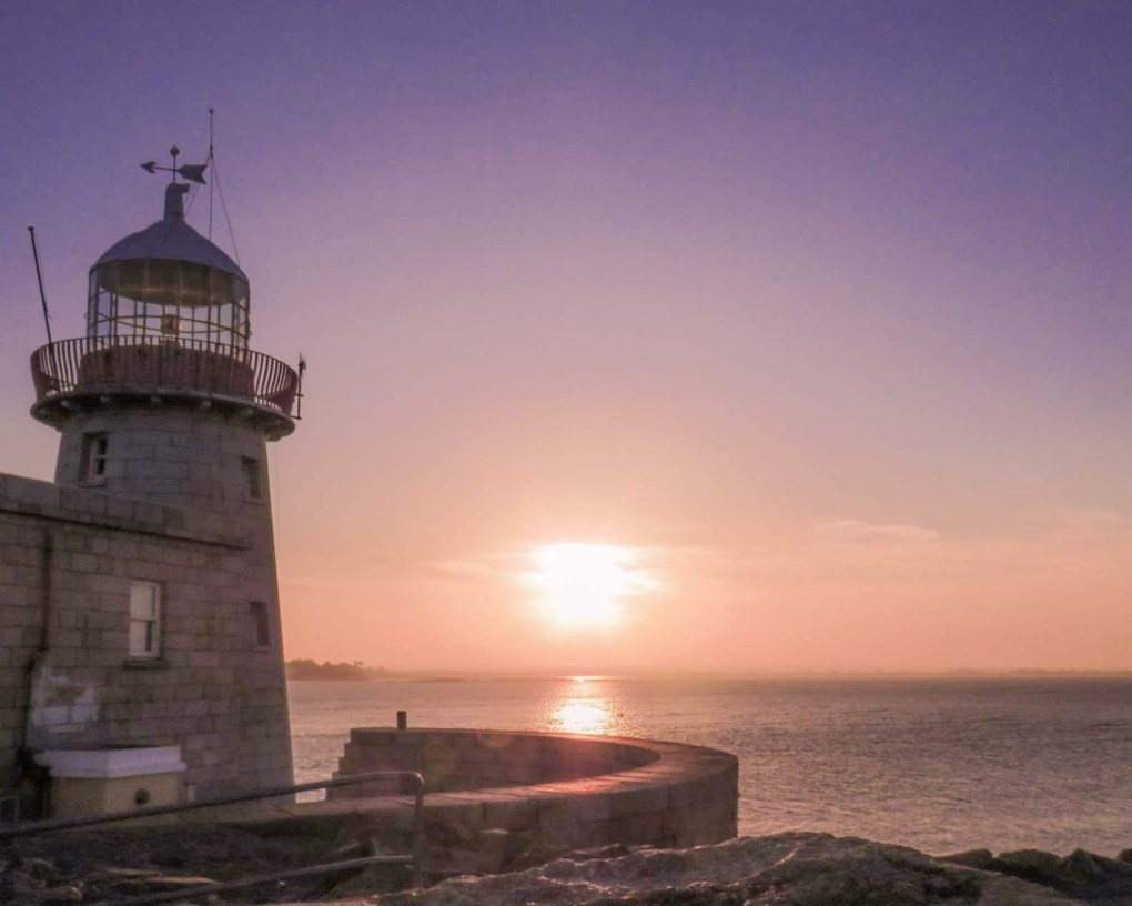 The Sunset at Howth Lighthouse