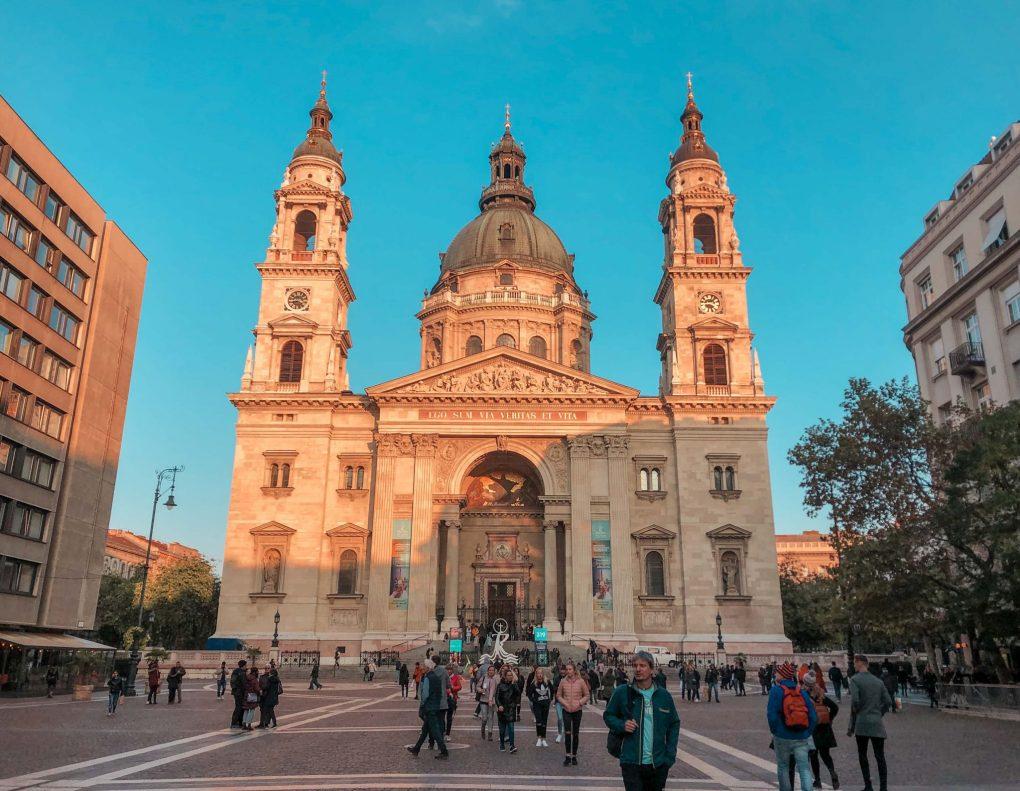 4 Days in Budapest St Stephen's Basilica