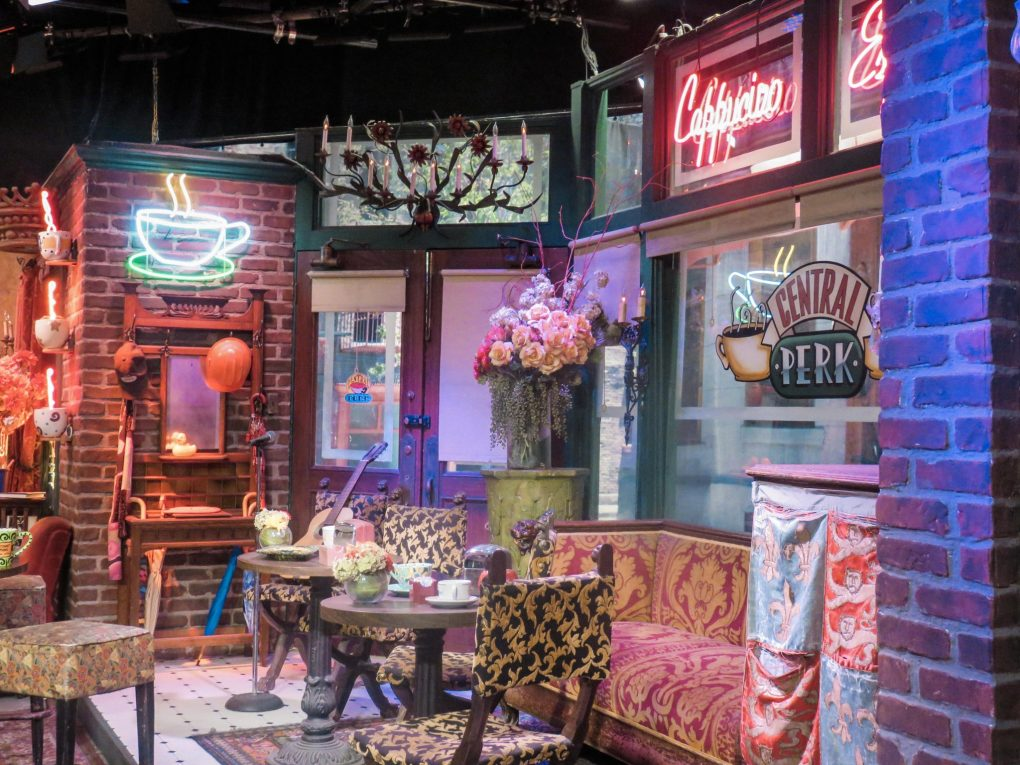 F.R.I.E.N.D.S Set, Warner Brothers VIP Studio Tour, California, United States