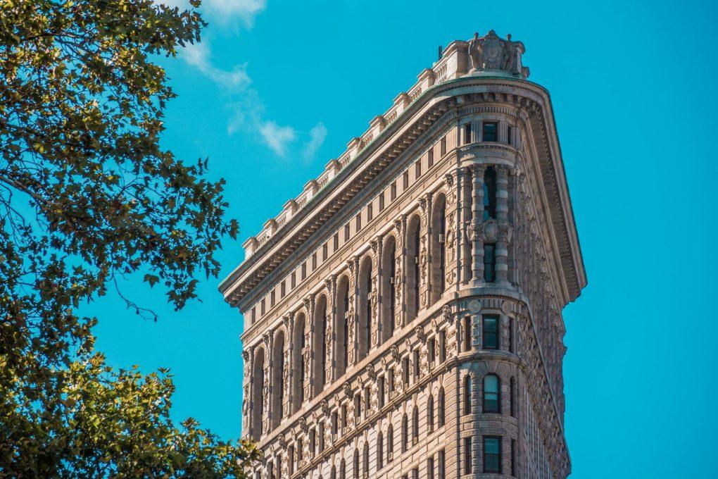 Flat Iron Building, New York City, The USA