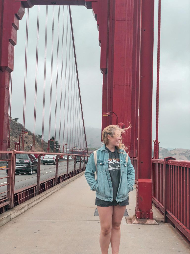 2 Days in San Francisco | Walking the Golden Gate Bridge