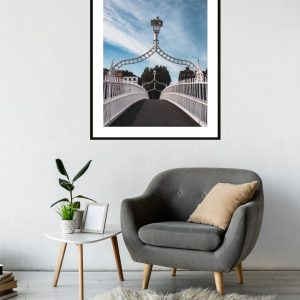 Ha Penny Bridge Dublin Print