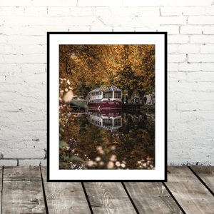 Dublin Prints: Grand Canal Reflection