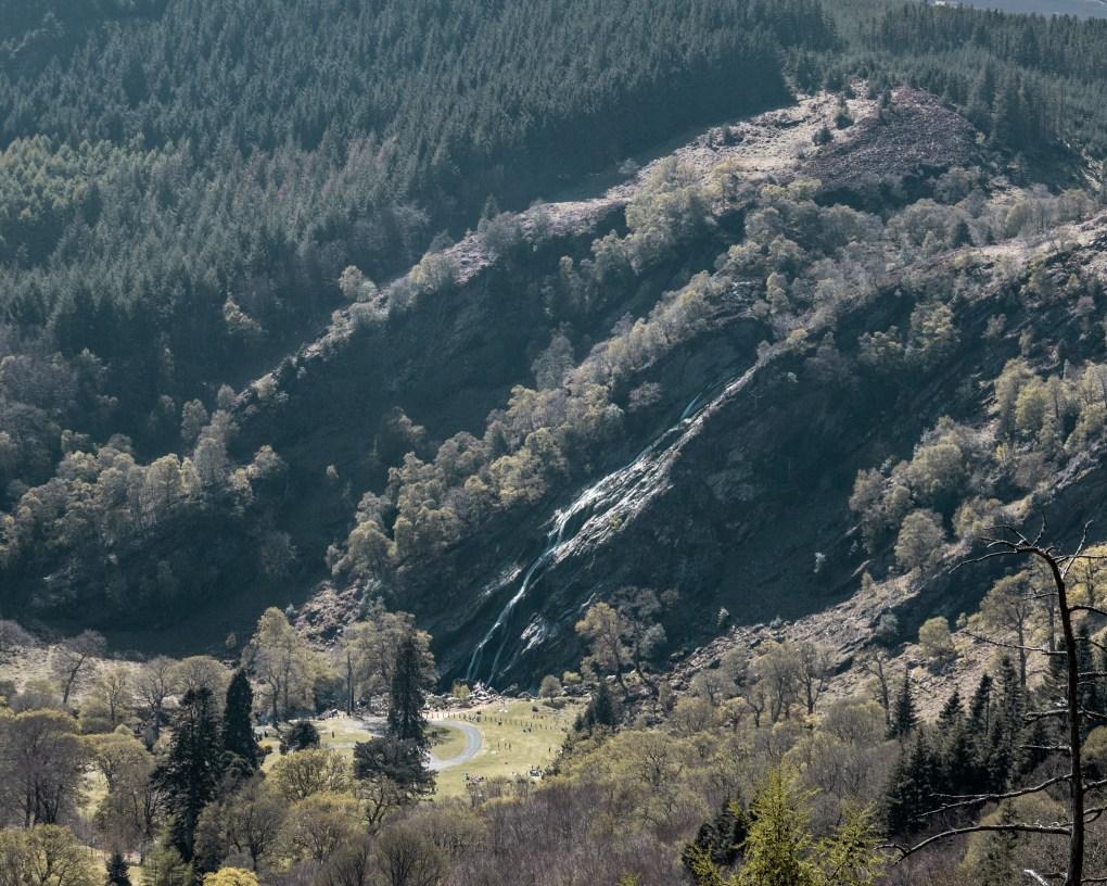 Crone Woods - Powerscourt Waterfall - Wicklow Mountains