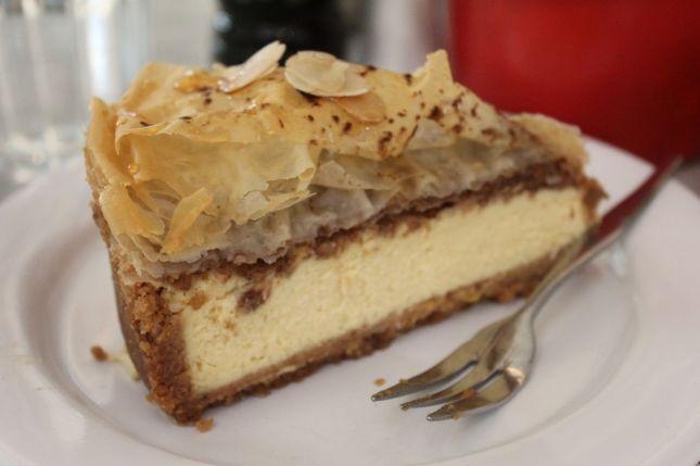 Baklava Cheesecake from Tashas.