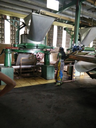 """Sri Lanka is well known for their tea, """"Ceylon Tea"""". We visited the Glenloch tea factory. Never knew it takes such a long process to get the tea leaves ready!"""