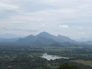 Views from top of Sigiriya