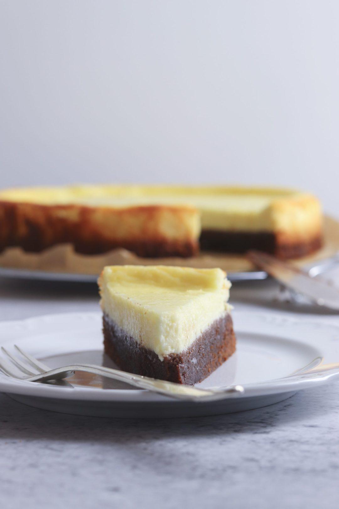 Cheesecake mit Brownieboden 1