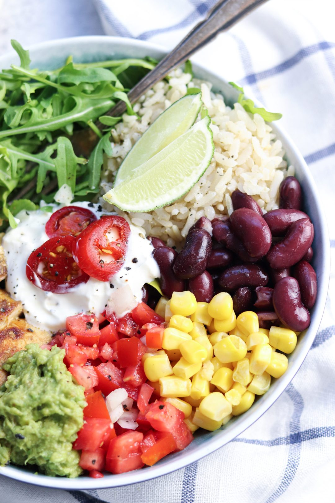 Bunte Salat-Bowl 1