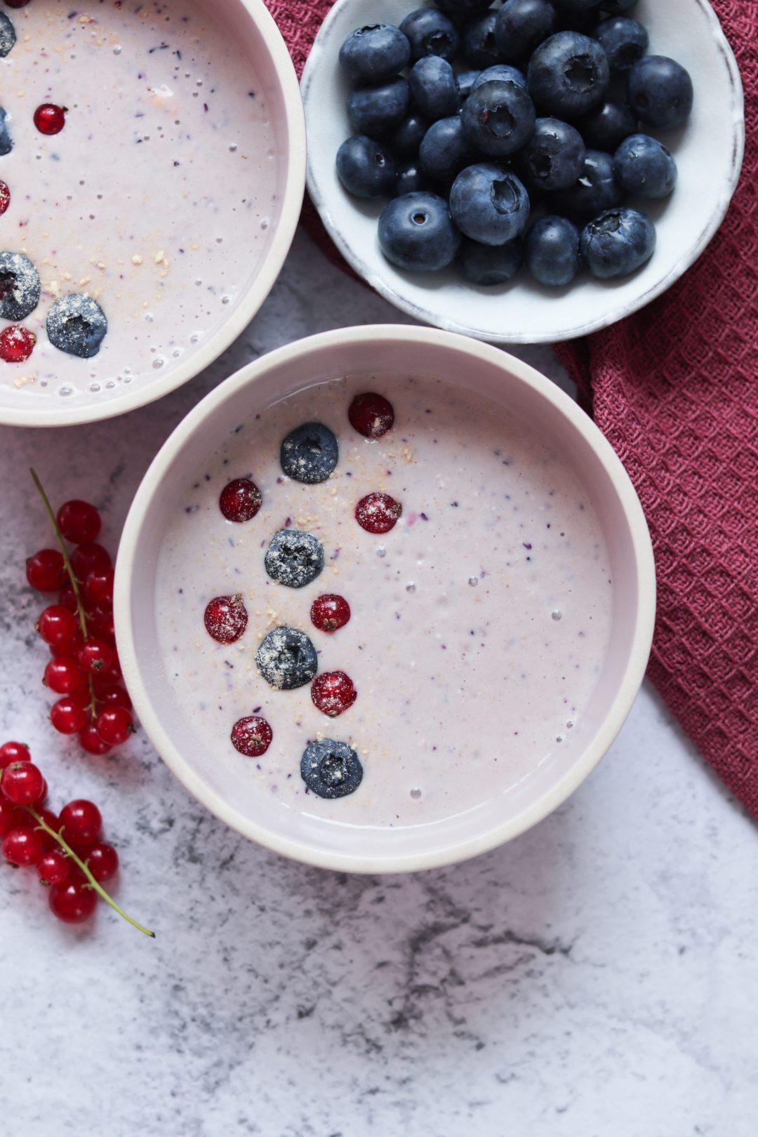Kefir Frühstücksbowl 1