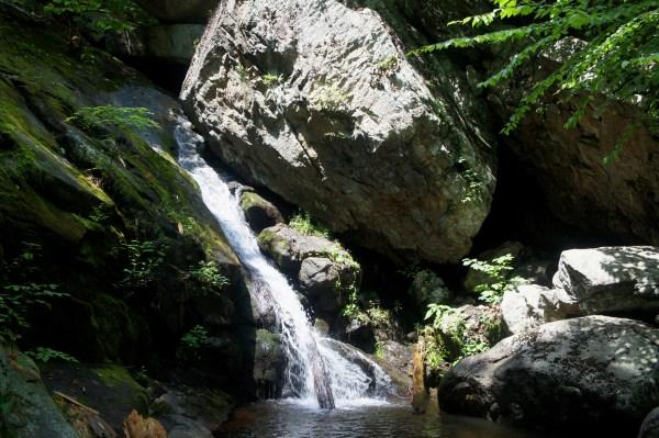 Hazel Falls Shenandoah National Park Trail