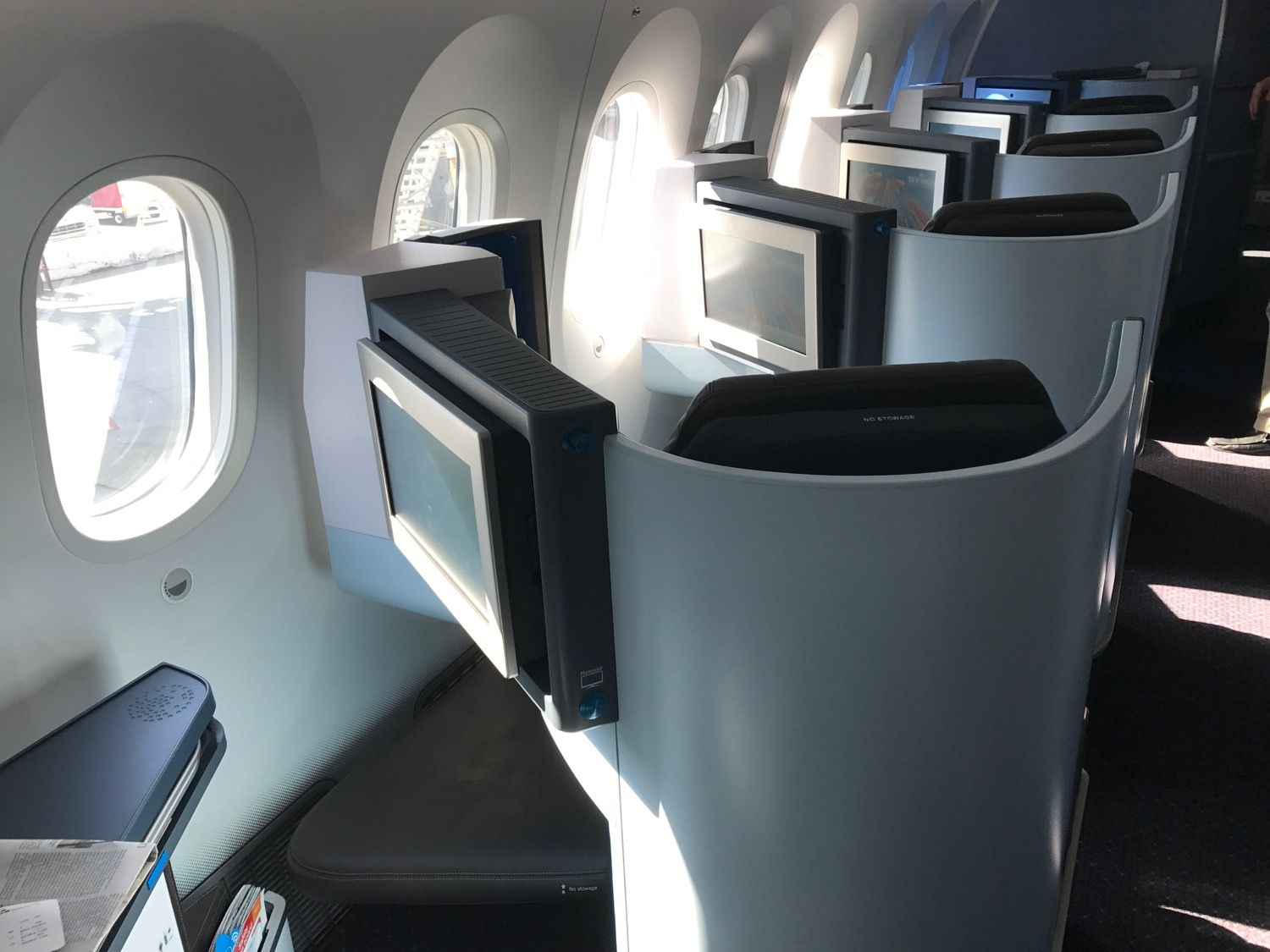 Klm Airbus A330 200 Business Class Seating Heritage Malta