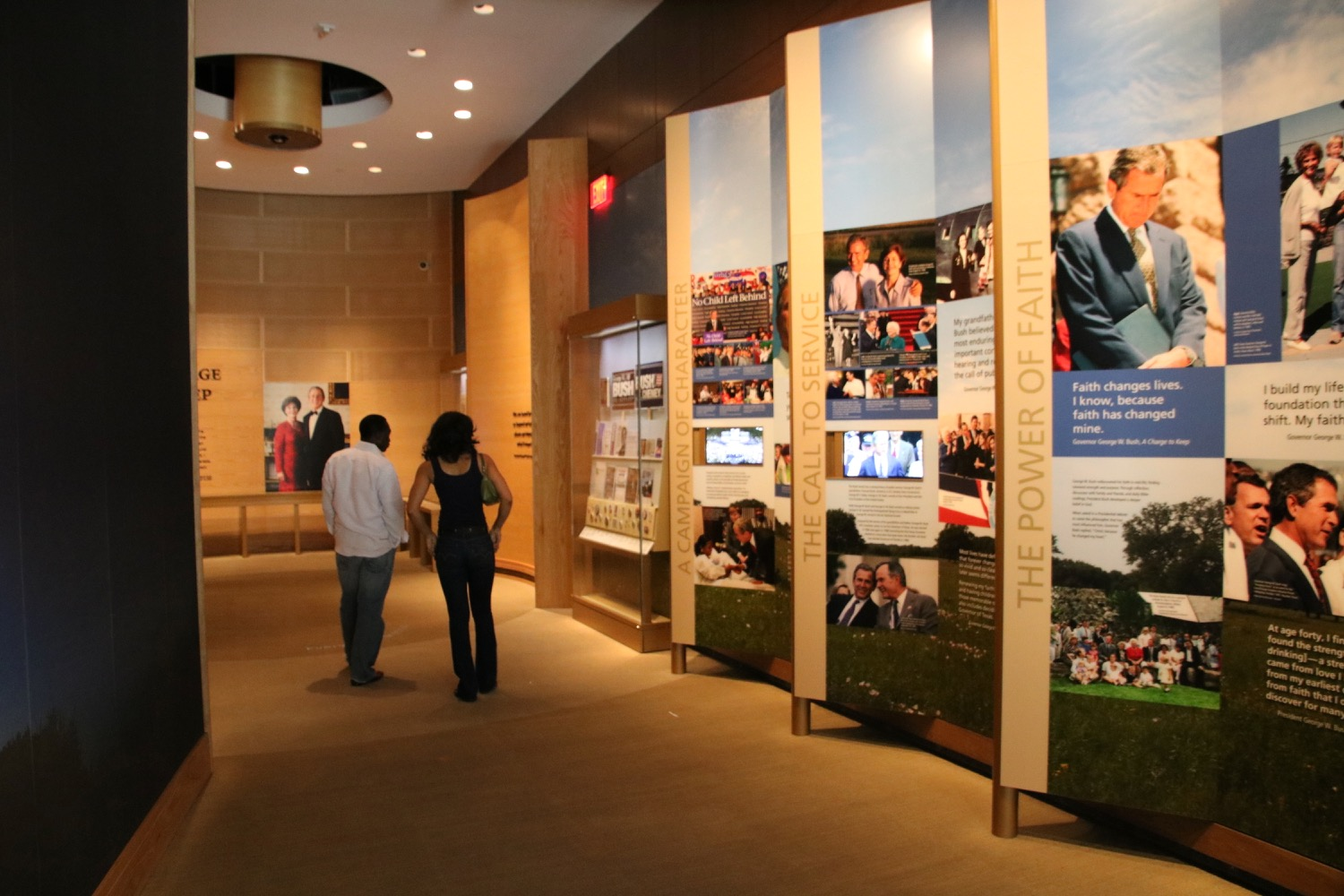 George W Bush Presidential Library and Museum  Live and