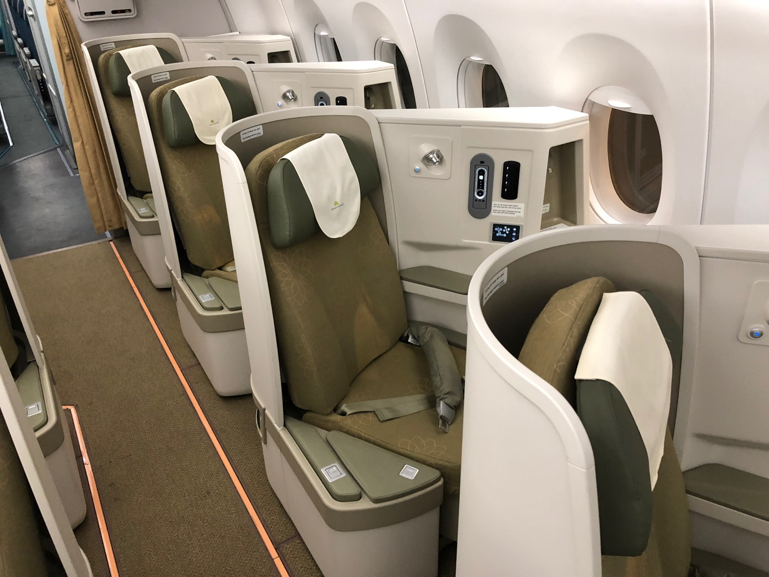 First Impressions of Vietnam Airlines A350 Business Class  Live and Lets Fly