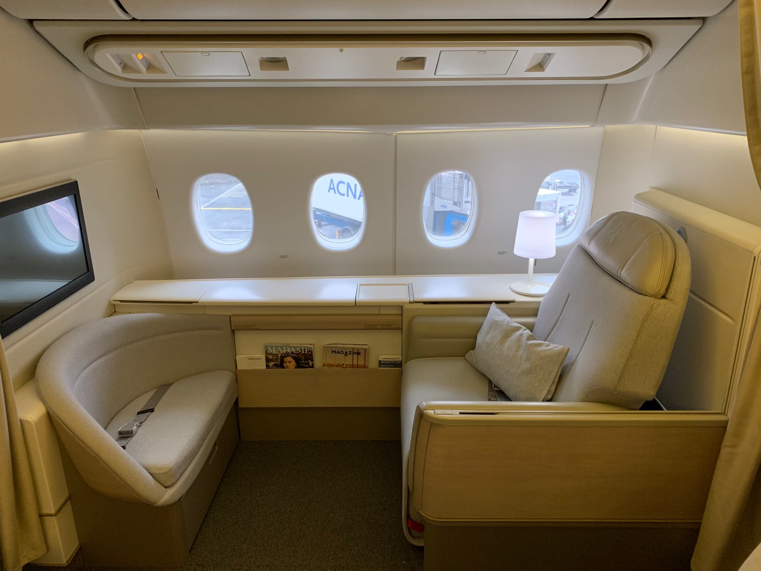 review air france 777
