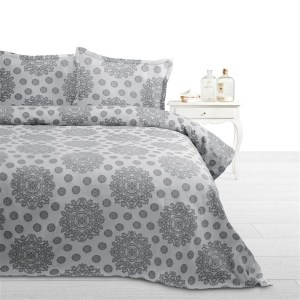 Bedsprei Grijs Fancy Embroidery Italica