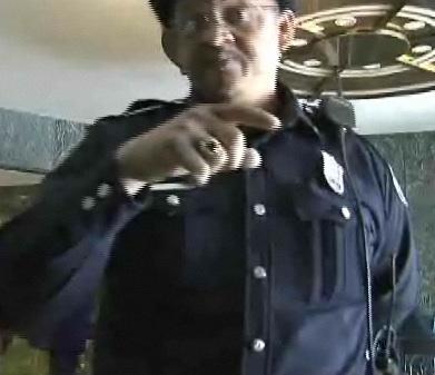 "Officer E.R. ""Enormously Rumpheaded"" Murray, APD"