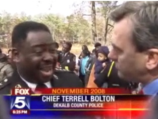 Terrell Bolton with Dale Russell, WAGA