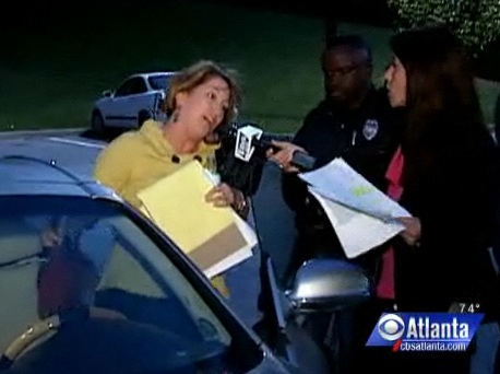 Evasive maneuver:  A well-coached Fulton school board member with Wendy Saltzman, WGCL