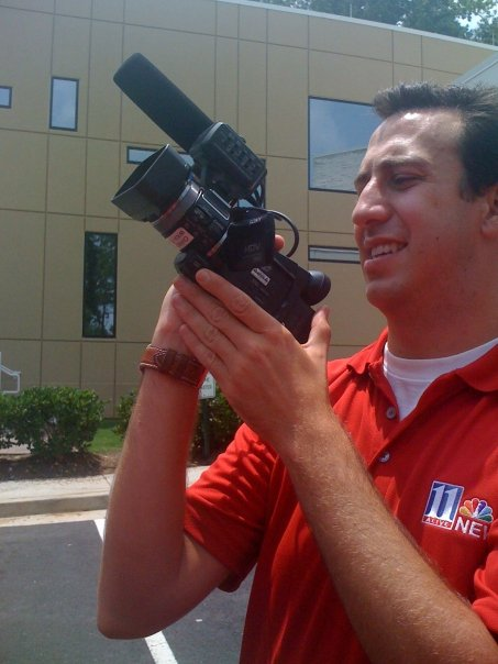 Chris Sweigart, WXIA (with his eggplant-cam)