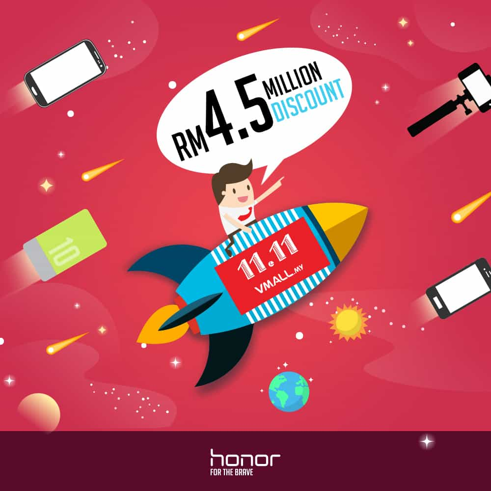 Honor Offers RM45 Million Worth Of Discounts During