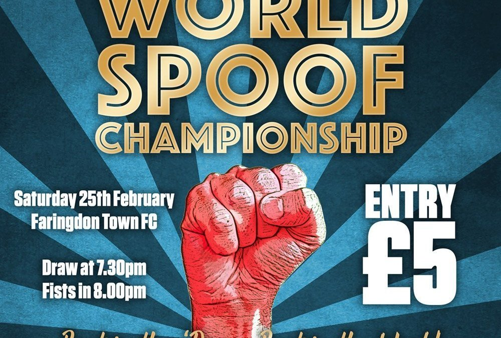 1st World Spoof Championship