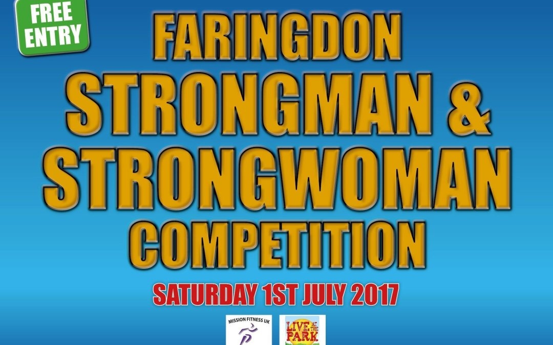 Rules for the Faringdon Strongman & Strongwoman Competition