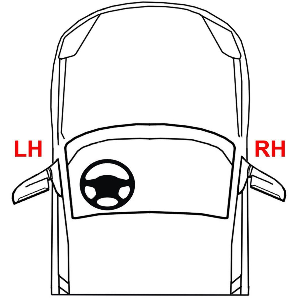 New Passenger Side Outer Dot Sae Tail Light For Honda