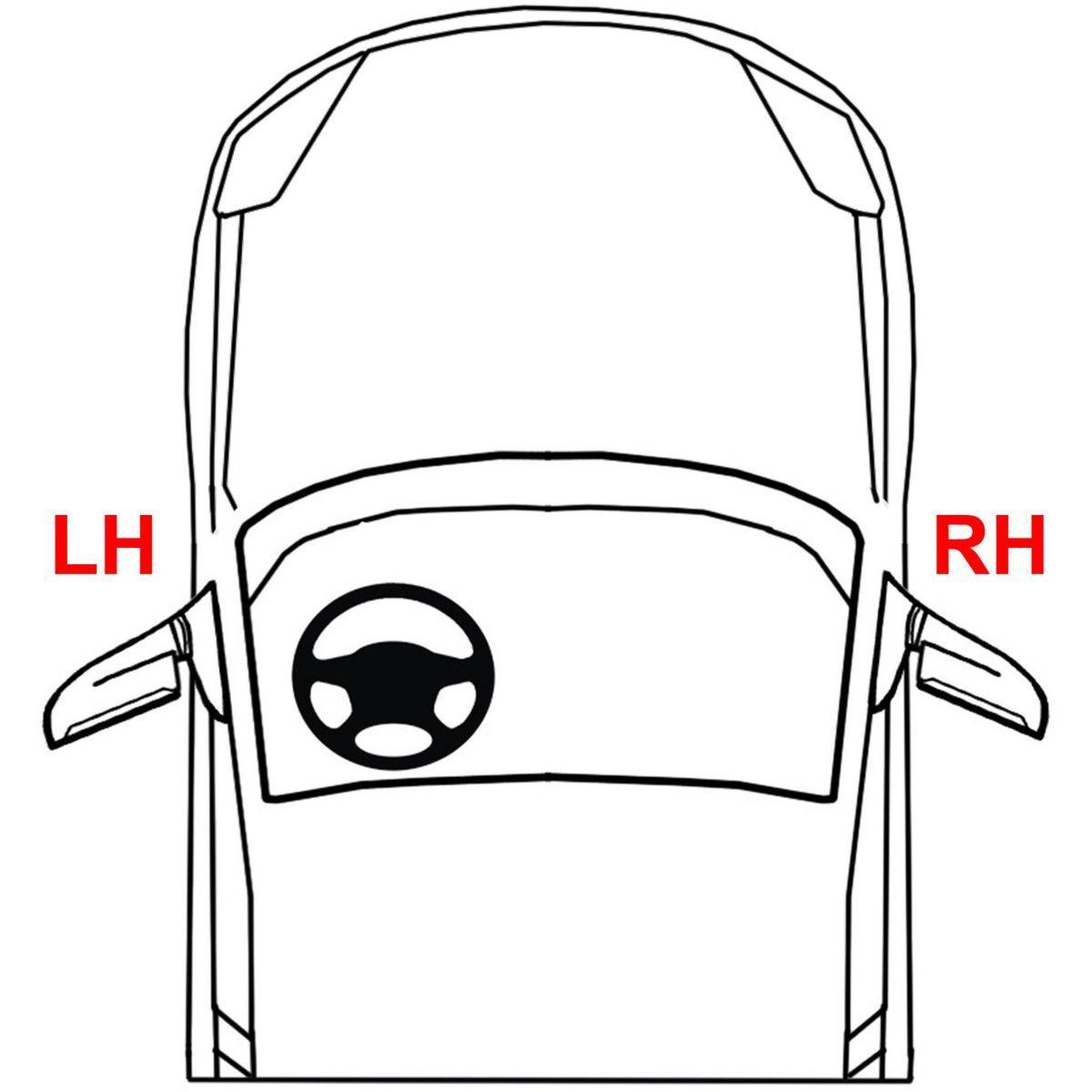 New Passenger Side, Outer Tail Light For Honda Civic 2013