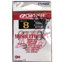 Owner Mosquito Hook Live Bait Hook Size 8