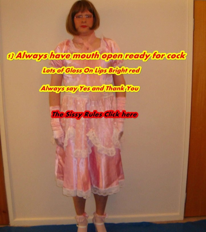 Sissy sluts rules, how to obey Mistress, cocksucker rules