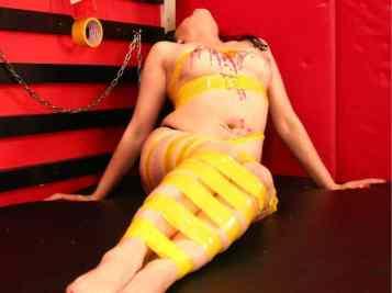 female bondage cams, girls in bondage, girls in duct tape