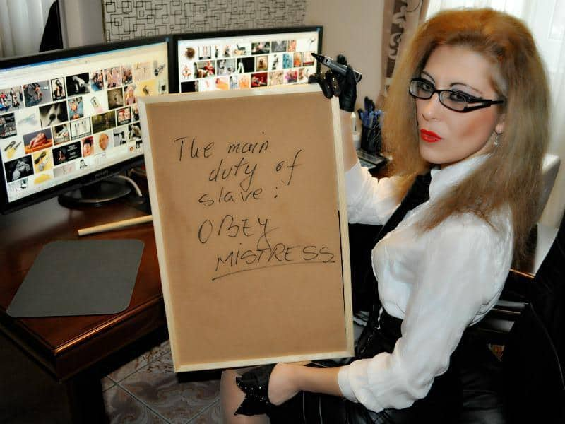 Images - Mistress Glasses In Your Face