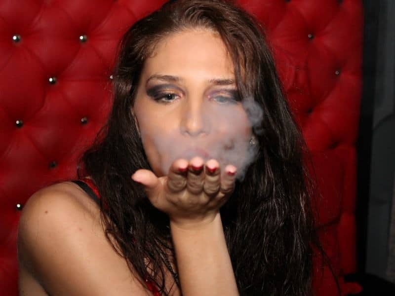 thick smoke