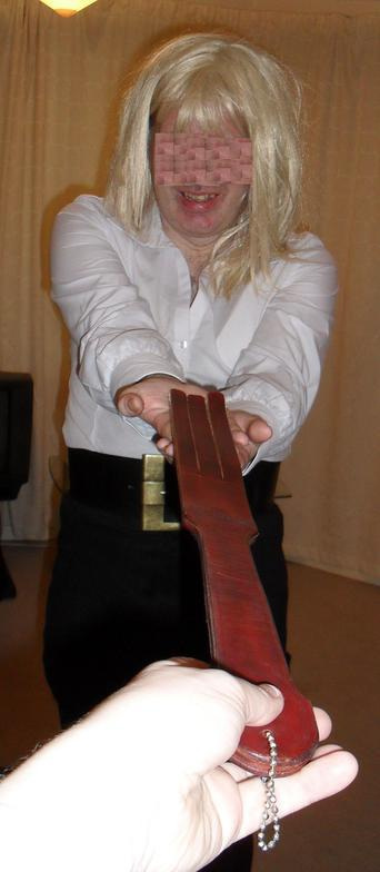 corporal punishment sissie