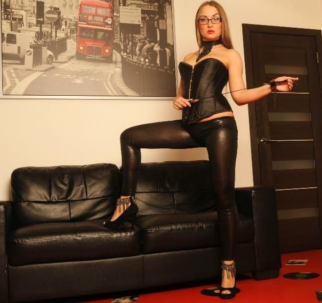 In the Back Room (a femdom foot torment short story)