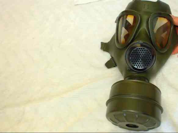 kinky gas mask