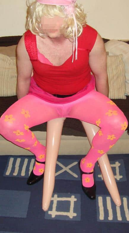sissy in pantyhose