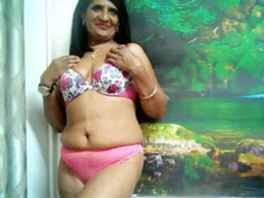 indian milf in panties