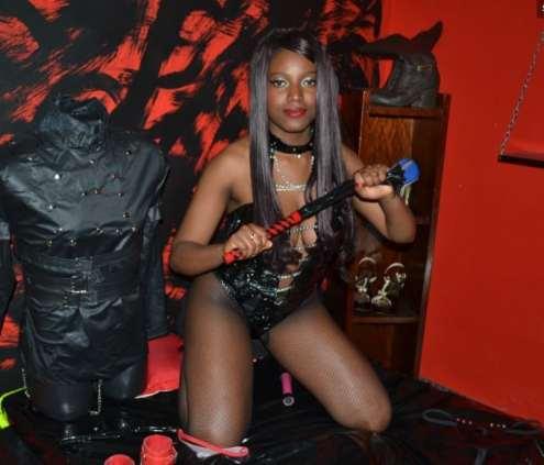 evil black mistress
