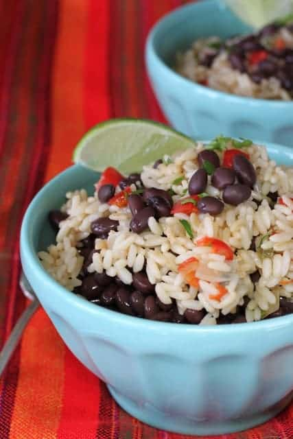 Gallo Pinto | Black beans and rice was my best souvenir from Costs Rica. They were served for breakfast which is where I fell in love with them! They keep well and don't you love that these are such a bargain? I do. www.LiveBest.info