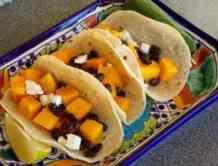 Black Bean Squash Tacos