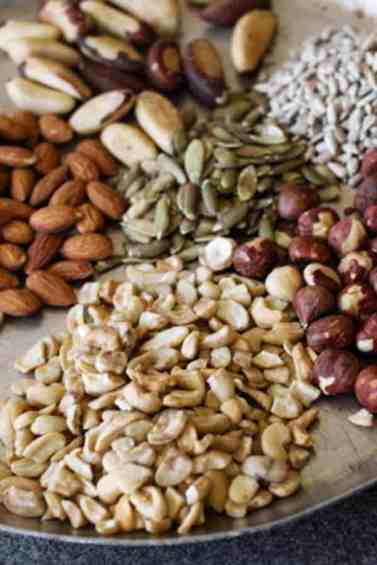 Nut'n Seed Butter recipe   Blend your favorite nuts and seeds to make Nut'n Seed Butter. Creamy or crunchy, you got it. Spread the healthy deliciousness! www.LiveBest.info