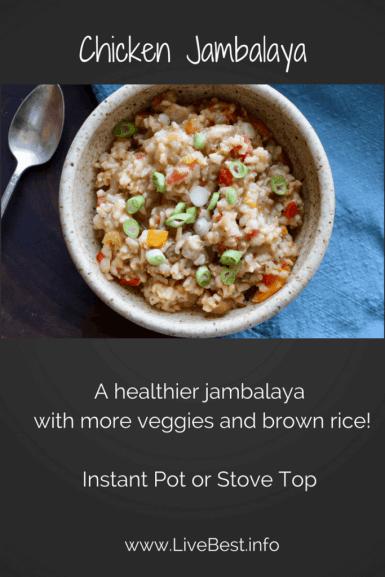 Chicken Jambalaya bowl