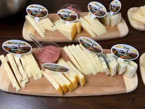 Benedictine monk cheese tray , Quebec