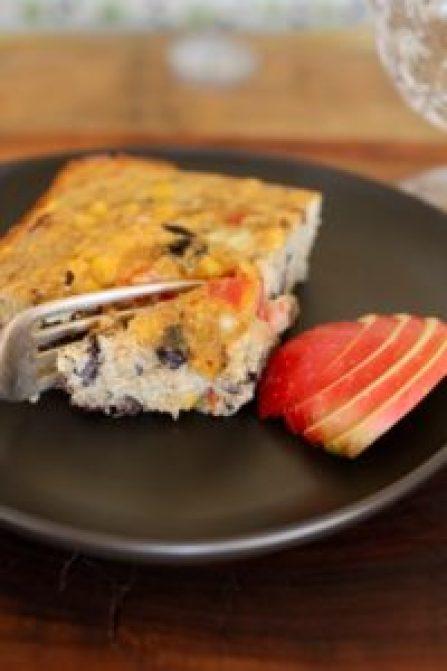 quinoa black bean breakfast casserole